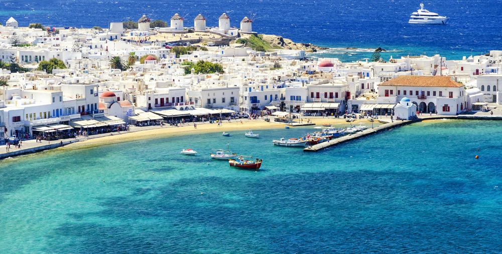 overblik over Grækenland