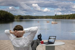 Er du på ferie for at slappe af? Dette kan du lave