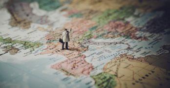 Tag verden med hjem i form af et verdenskort